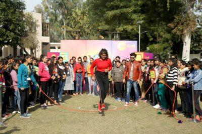 Shoot of 'Ajo jinne khedna' organized at HMV