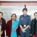 Cdt. Parneet Kaur of HMV selected for Youth Exchange Program for Nepal through NCC