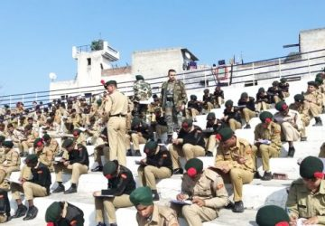 2 PB Battalion conducted the National Cadet Corps 'A' certificate examination