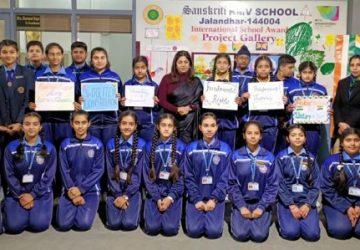 KMV Sanskriti School organize special program to celebrate Republic Day