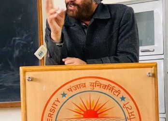 PU organize special lecture on  'Climate Change in Current World Disorder'  by Prof. Kuldeep Singh from GNDU