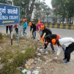 NSS Volunteers of HMV started JOSH campaign for cleaning roads of Jalandhar