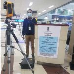 To detact Corona threat Thermal Sensors installed at Amritsar Airport