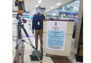 To detect Corona threat Thermal Sensors installed at Amritsar Airport