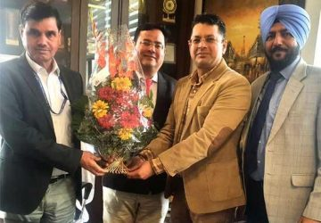 PUCA congratulated Vice Chairman, AICTE for extension of his tenure