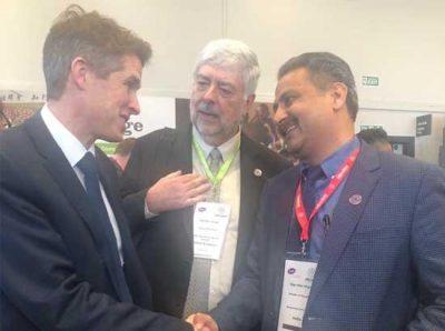 Punjab Education Minister calls upon U K MP and Education Secretary Gavin Williamson