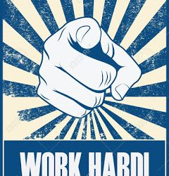 Work hard - Luck is the concept invented by …..