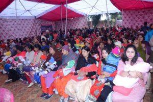 Mega Lohri celeberation for 500 New born Girls in Kapurthala
