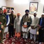 Cooperation and Jails minister  pays obeisance at Shri Swami Sant Das Ji Udasin Ashram