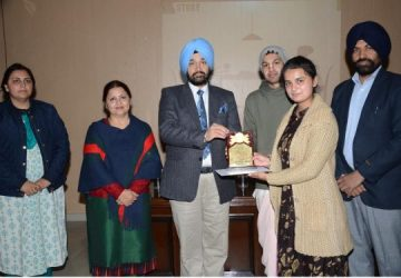 Lyallpur Khalsa College organize on 70th anniversary of the Indian Constitution