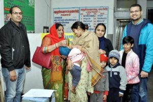 पल्स पोलियो की दवा पिलाना माता-पिता का कर्तव्य: राजेश देवी