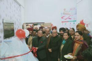 MP dedicates Platelet collection machine at Civil Hospital Jalandhar