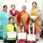 Punjabi Department of HMV celebrates International Mother Language Day