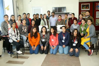 HMV Organized One Day Workshop on Computerized Embroidery Techniques