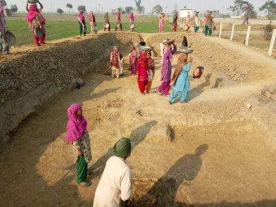 MGNREGA scheme provides employment