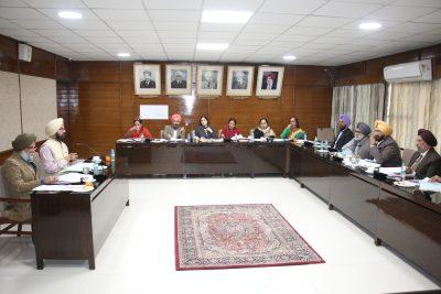 Syndicate Meeting  at Guru Nanak Dev University