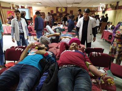 Panjaaab Universityorganize Blood Donation Camp