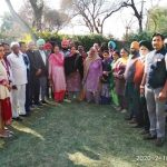 3-days special camp for pensioners held at MLA Pinki's residence