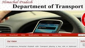 Himachal Transport Deptt to provide Online Services