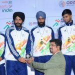 GNDU), Amritsar, and Panjab University, Chandigarh lockes in a keen battle ine inaugural Khelo India Univ Games
