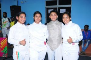 Panjab's Universities lead charge in fencing at KIUG 2020