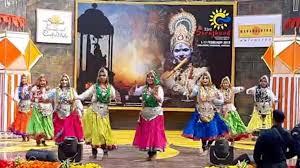 सूरजकुंड में 34 वें अन्तर्राष्ट्रीय सूरजकुंड शिल्प मेले का शुभारम्भ