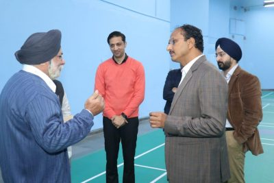 Another Milestone for Sports City Jalandhar to have Five Synthetic Badminton Courts