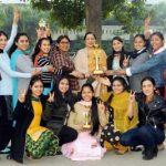 Luddi Dance of KMV students stands First in Luddi Dance