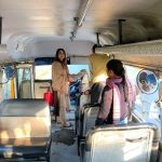 Out of  140 buses  48 Challaned,impounded violating norms, Drive to conttinue