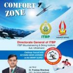 ITBP will organize  Five day Skiing & Mountaineering Training from Feb 22