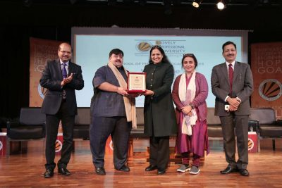 President, Pharmacy Council of India, Dr B. Suresh interacted with LPU Students