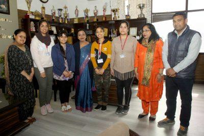 HMV students got University positions in BFA sem I