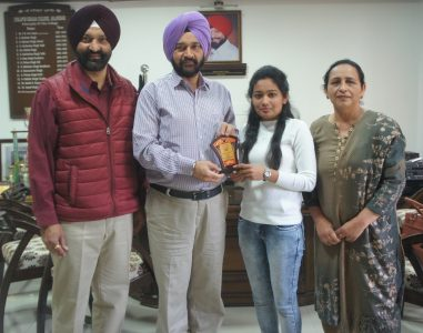 Bandeep of Lyallpur Khalsa College Jalandhar has bagged 3rd position in