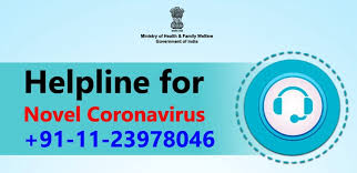 Central and States of  Helpline Number for corona-virus