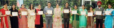 Municipal Corporation Jalandhar  Felicitates KMVites