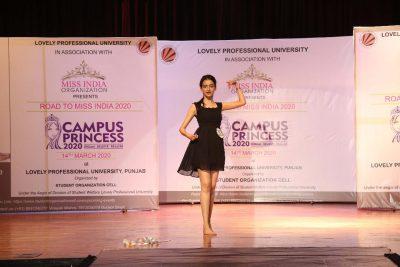 LPU M Sc Student Reebu Gupta got Direct Entry to Miss India Beauty Contest-2020
