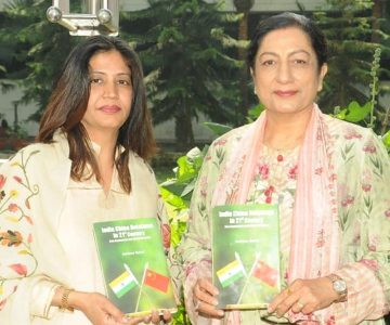 KMV Principal Honors Ashima Sahni for her Book on India China Relations in 21st Century