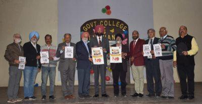 SCD Govt.College, Ludhiana Alumni's crusade gainst drug menace