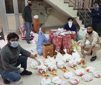Panjab Univ volunteers acting as backbone during Covid-19