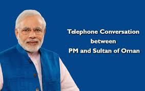 Telephone Conversation between PM and Sultan of Oman