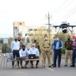 Commissionerate Police deploy UAVs to keep eagle eye over violators of curfew