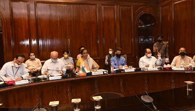 Nirmala Sitharaman chairs 22nd Meeting of FSDC