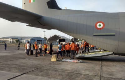 Cyclone Amphan: IAF continues to be on High State of Preparedness for undertaking Relief Operations