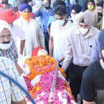 Padma Shri Balbir Singh Senior Hockey legend  cremited with full honors