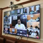 Union Minister Dr Jitendra Singh reviews the current status of COVID 19 in J&K