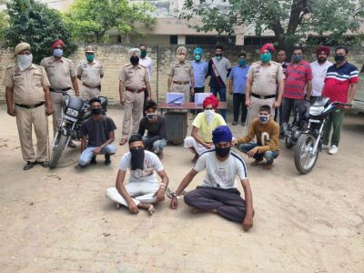 S B S Nagar Police arrests Six Youngsters in a murder case
