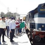 12thShramik express train moves from Ferozepur