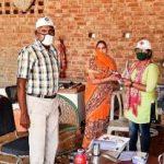 कोराना को हराना है भारत को जिताना है अभियान जारी
