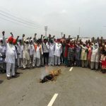 Farmers hold protest, rejects meager paddy MSP hike of Rs.53 by Centre