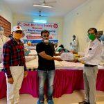 थैलीसिमिया पीडि़तों के लिए रक्तदान शिविर का किया आयोजन